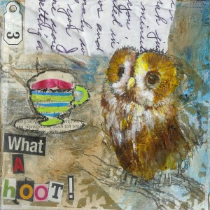 What A Hoot - Matted Prints