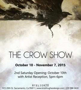 crow show invite